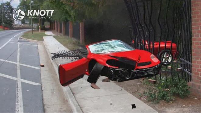 Dany Heatley Car Crash  Knott Laboratory, LLC