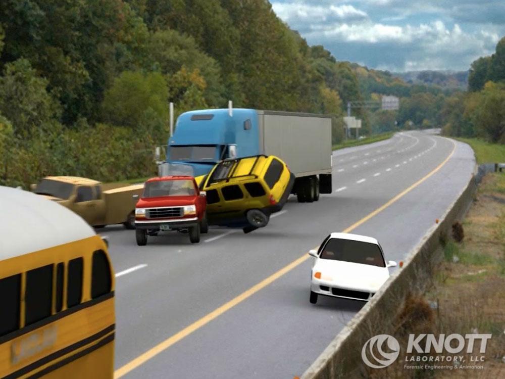 Knott Laboratory – Animations Screenshots – Multiple Vehicle ...