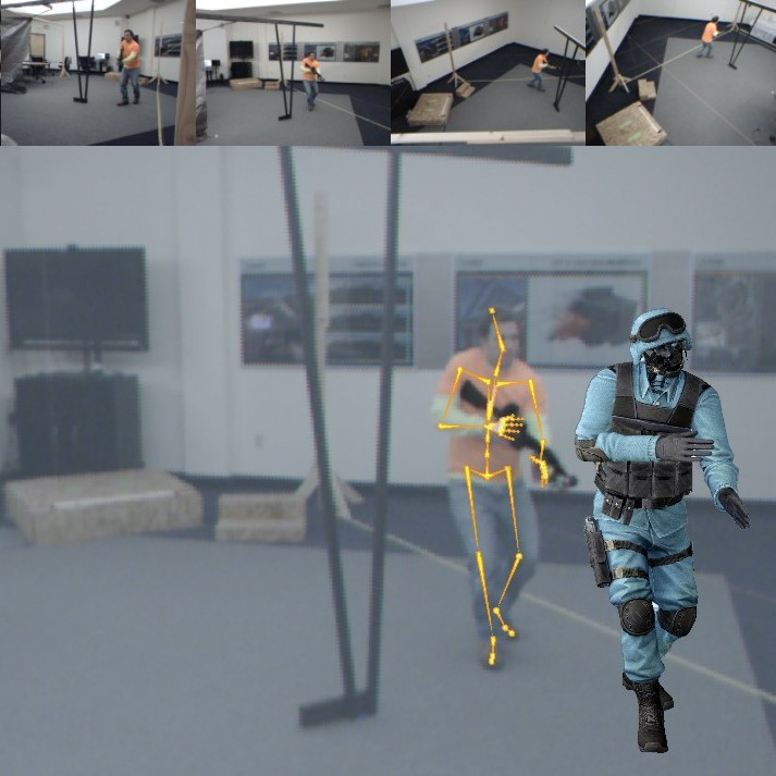 Image from motion capture