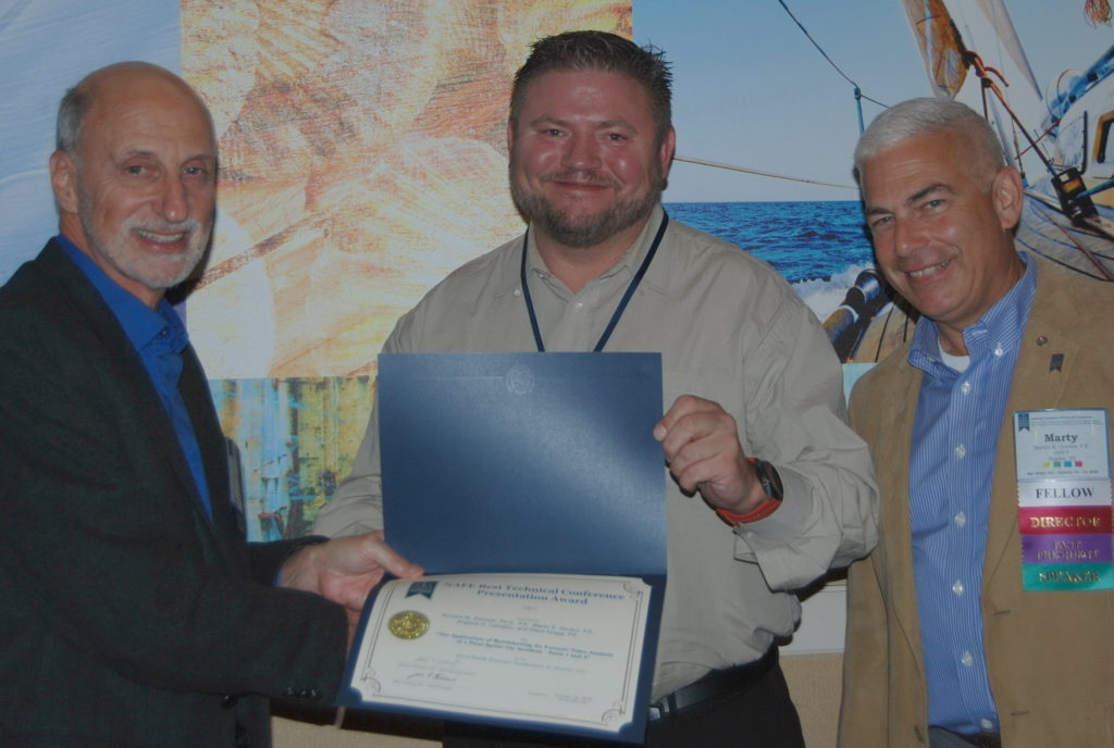 Steve Knapp awarded Best Technical Conference Presentation Award