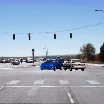 Image of Car Crash Simulation Example